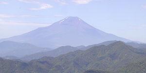 檜洞丸西の稜線より2000年7月16日